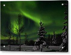 Green Skies Acrylic Print