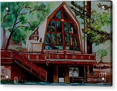 Green Valley Lake Church Acrylic Print