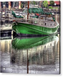 Green With Envy Acrylic Print by Brian Fisher