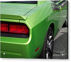 Green With Envy Acrylic Print by Chad Thompson