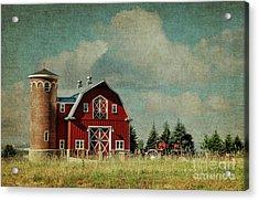 Greenbluff Barn Acrylic Print