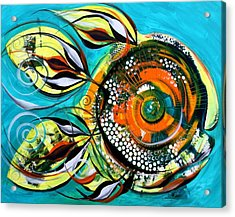 Gretchen Fish A Citrus Twist Acrylic Print