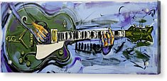 Gretsch Guitar Acrylic Print