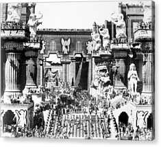 Griffith: Intolerance 1916 Acrylic Print by Granger