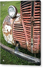 Grilled Acrylic Print by Glennis Siverson