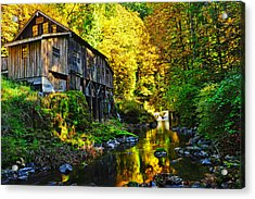 Acrylic Print featuring the photograph Grist Mill by Jim Boardman