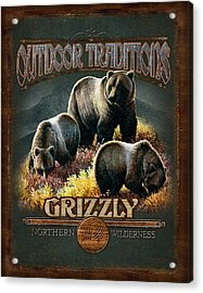 Grizzly Traditions Acrylic Print