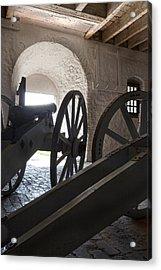 Ground Floor Cannons Acrylic Print