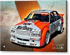 Group C Vk Commodore Acrylic Print by Stuart Row