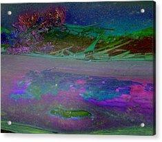 Acrylic Print featuring the digital art Grow by Richard Laeton
