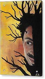 Growth Of A Man Acrylic Print by Nicole Williams