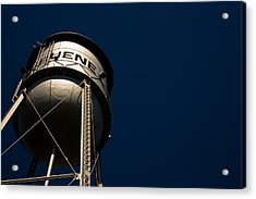 Gruene Water Tower Acrylic Print