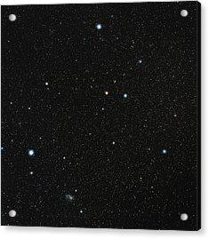 Grus Constellation Acrylic Print by Eckhard Slawik