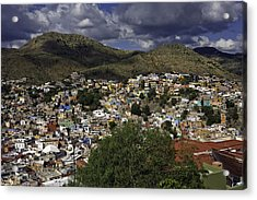 Acrylic Print featuring the photograph Guanajuato Vista No. 1 by Lynn Palmer