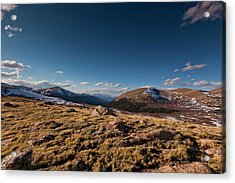 Guanella Pass Colorado Acrylic Print by Richard Steinberger