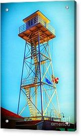 Guard Tower Acrylic Print by Thanh Tran