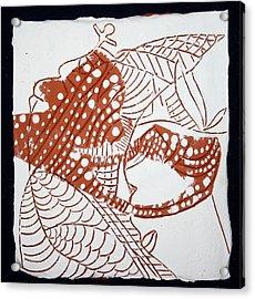 Guardian Angel - Tile Acrylic Print by Gloria Ssali