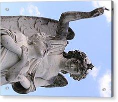 Guardian Angel Acrylic Print by Andrea Drake