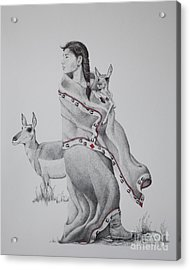 Guardian Of The Herd Acrylic Print
