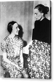 Gudrun Himmler, Daughter Of Heinrich Acrylic Print by Everett