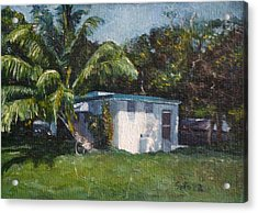 Guest House In Aguada Acrylic Print by Victor SOTO