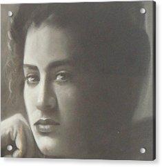 Guest Acrylic Print by Maryam Salamat