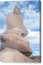 Guiding Rock Acrylic Print by Katy Irene