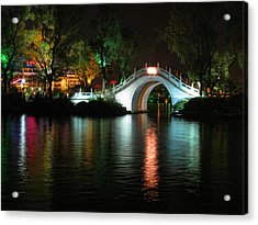 Guilin Bridge Acrylic Print