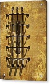 Guineveres Window Acrylic Print by Van Schipper