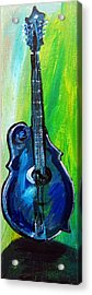 Acrylic Print featuring the painting Guitar 1 by Amanda Dinan