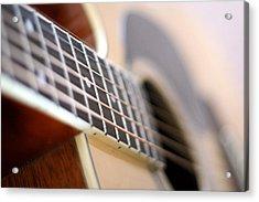 Guitar 1 Acrylic Print by James Iorfida