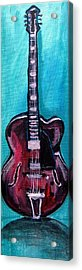 Acrylic Print featuring the painting Guitar 2 by Amanda Dinan