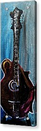 Acrylic Print featuring the painting Guitar 3 by Amanda Dinan