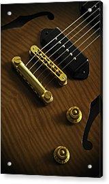 Guitar Acrylic Print by Mauricio Jimenez