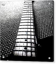 #guitar #neck #fender #telecaster Acrylic Print