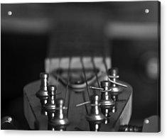 Guitar01 Acrylic Print by Svetlana Sewell