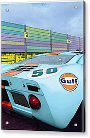 Gulf 50 Acrylic Print by Kenneth Breeze