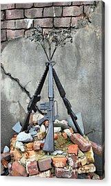 Guns Of War - Color Acrylic Print