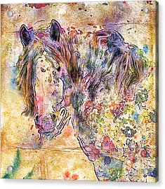 Gypsy Babe Acrylic Print
