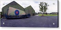H-p Hastings Wing Raf Elvington Acrylic Print by Jan W Faul