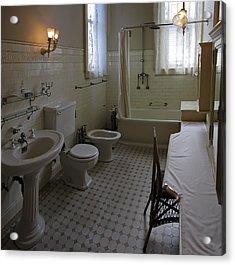 Haas Lilienthal House Victorian Bath - San Francisco Acrylic Print by Daniel Hagerman