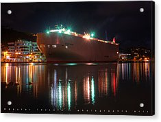 Habour Acrylic Print by Dexter Fassale