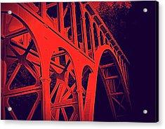 Haceta Head Bridge Acrylic Print