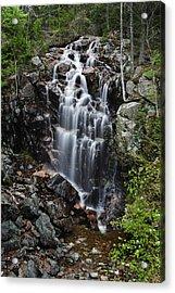 Hadlock Falls Acadia Acrylic Print by Rick Berk