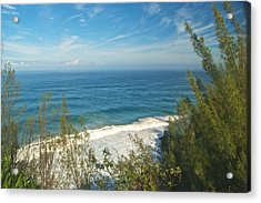Haena State Park Overview Acrylic Print by Michael Peychich