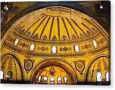 Hagia Sophia Architecture Acrylic Print by Artur Bogacki