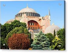 Hagia Sophia Acrylic Print by Artur Bogacki