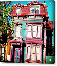 Haight And Ashbury Reminiscent  Acrylic Print