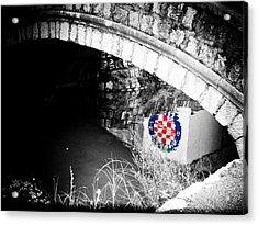 Hajduk Acrylic Print by Ivica Vulelija