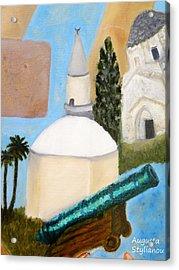 Hala Sultan Tekke Acrylic Print by Augusta Stylianou